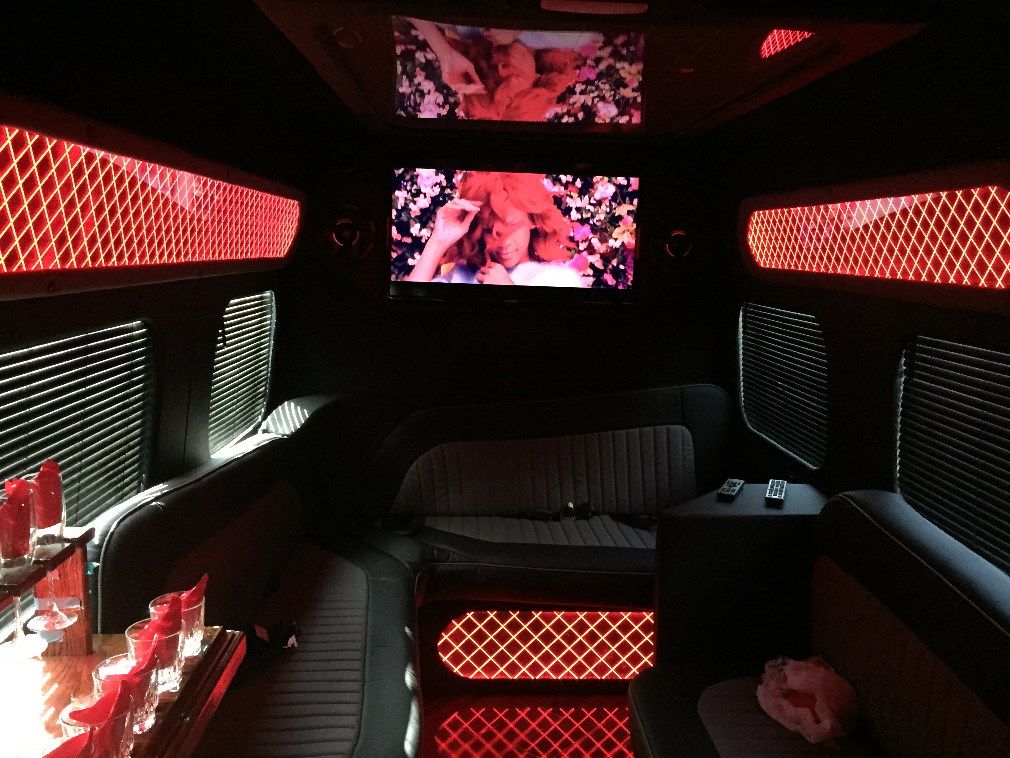 sprinter limo interior